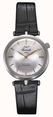 J&T Windmills 女人threadneedle机械手表银玫瑰金 WLS10001/06