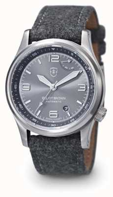 Elliot Brown 男士 tyneham 灰色 stap 灰色表盘 305-002-F01