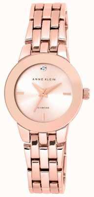 Anne Klein 女式玫瑰金色调手链玫瑰金表盘 AK/N1930RGRG