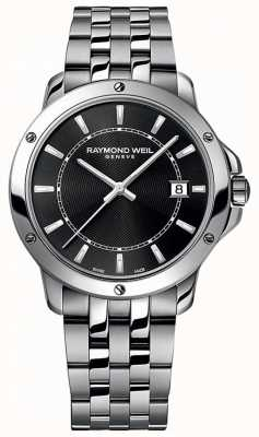 Raymond Weil 男士探戈不锈钢黑色指针表盘 5591-ST-20001