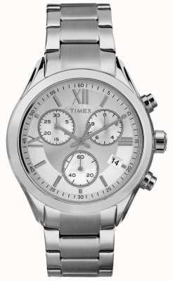 Timex 女人迈阿密计时银色调 TW2P93600