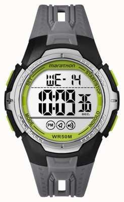 Timex 中性马拉松数字黑色全尺寸 TW5M06700