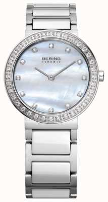 Bering 女士不锈钢银 10729-704