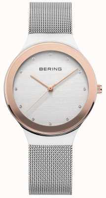Bering 女士银/金网 12934-060
