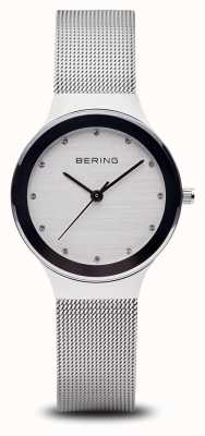 Bering 女人银色网眼手表 12934-000