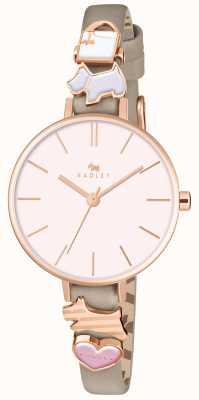 Radley 一次又一次的女士林地皮革表带手表 RY2408