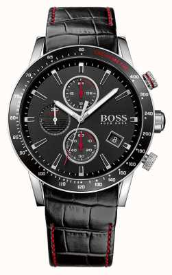 Hugo Boss Gents rafale黑色计时腕表 1513390