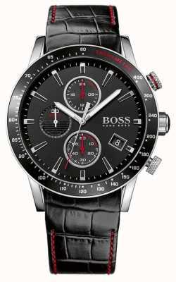 Boss 男士rafale黑色计时手表 1513390