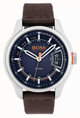 Hugo Boss Orange 男士香港棕色表带 1550002