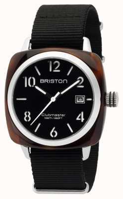 Briston 男士clubmaster经典醋酸hms龟甲黑色 16240.SA.T.1.NB