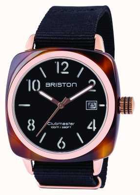 Briston 男士clubmaster经典醋酸黑色 13240.PRA.T.1.NB