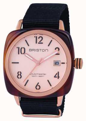 Briston 男士clubmaster经典醋酸玫瑰金 14240.PRA.T.6.NB