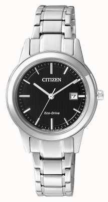 Citizen 女士们公民剪影生态驱动不锈钢手表 FE1081-59E