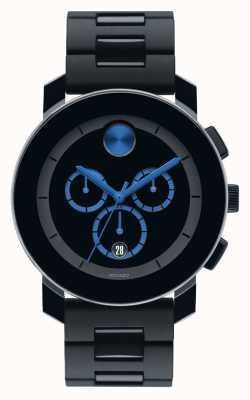 Movado 黑色大号计时黑色tr90复合材料 3600101