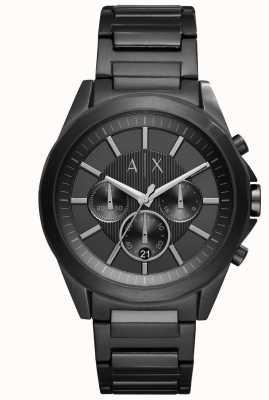 Armani Exchange 男士黑色镀铁钢 AX2601