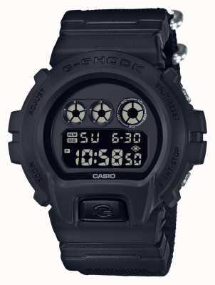 Casio 男士g-shock黑色布料表带 DW-6900BBN-1ER