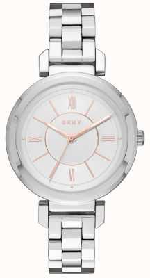 DKNY 女人ellington钢银手表 NY2582
