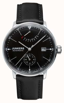 Junkers Ex展示款男装bauhaus自动黑色皮表带 6060-2-EX-DISPLAY