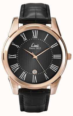 Limit 男士限制手表皮革 5454.01