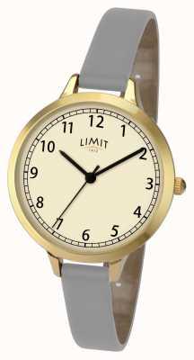 Limit 女士灰色/紫罗兰色表带手表 6228