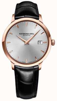 Raymond Weil 男士toccata银皮革 5488-PC5-65001