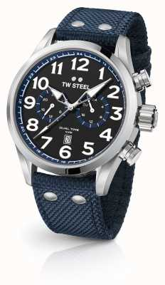 TW Steel 蓝色男士手表 VS37