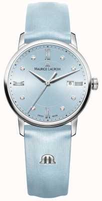 Maurice Lacroix 女人eliros八颗钻石蓝色 EL1094-SS001-550-1