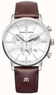 Maurice Lacroix Eliros男士计时棕色皮革 EL1098-SS001-112-1