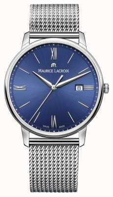 Maurice Lacroix 男装eliros手链网带蓝色 EL1118-SS002-410-1