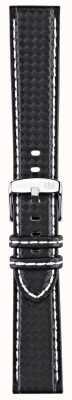 Morellato 仅表带 - 自行车技术黑色/白色18毫米 A01U3586977817CR18