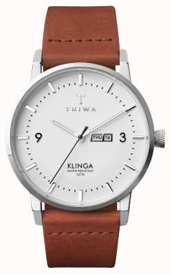 Triwa 男士雪klinga棕色经典 KLST109-CL010212