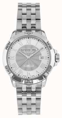 Raymond Weil 男士探戈钢银石英 8160-ST-00658