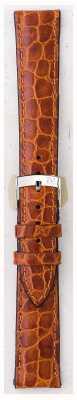 Morellato 只带 - 利物浦鳄鱼皮浅棕色18毫米 A01U0751376037CR18