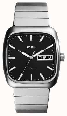 Fossil 男士卢瑟福银色金属 FS5331