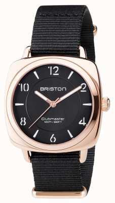 Briston 中性clubmaster别致黑色pvd玫瑰金 17536.SPRG.L.1.NB