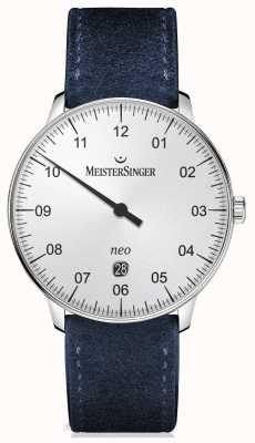 MeisterSinger 男装形式和风格的自动银 NE401