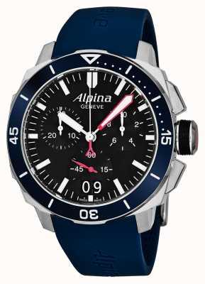 Alpina 男士海运潜水员300大日期 AL-372LBN4V6