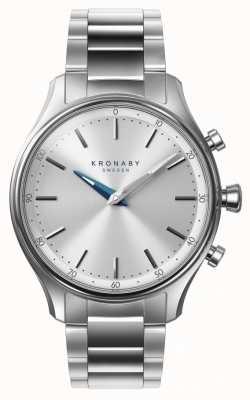 Kronaby 38毫米sekel蓝牙不锈钢表链a1000-0556 S0556/1