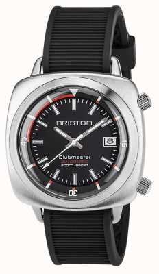 Briston 中性clubmaster潜水员拉丝钢自动海军 17642.S.D.15.RNB