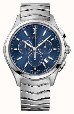 EBEL Wave男士蓝色表盘计时腕表 1216344