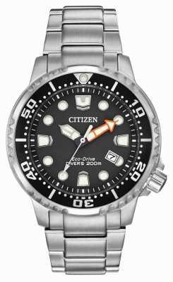 Citizen 男士生态驱动promaster潜水员不锈钢 BN0150-61E