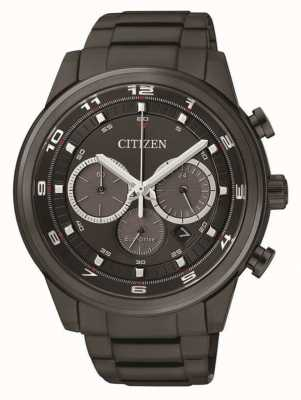 Citizen 男士生态驱动计时黑色ip CA4035-57E