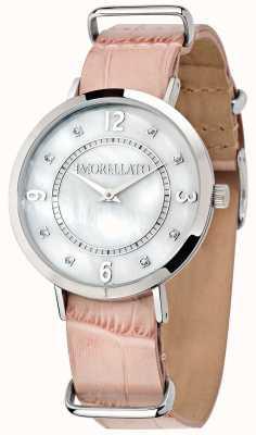 Morellato 女装Versilia粉红色皮革手表 R0151133508