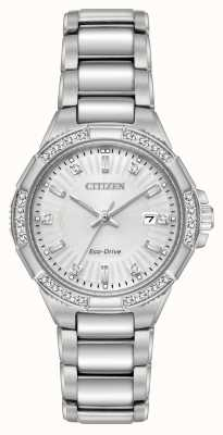 Citizen Riva生态驱动不锈钢钻石套装 EW2460-56A