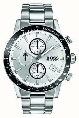 Hugo Boss 男士rafale计时码表白色表盘 1513511