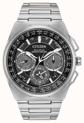 Citizen F900卫星波段gps计时超级钛 CC9008-50E