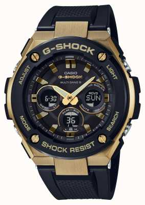 Casio 男士g-shock g-steel强硬太阳能手表黄金 GST-W300G-1A9ER