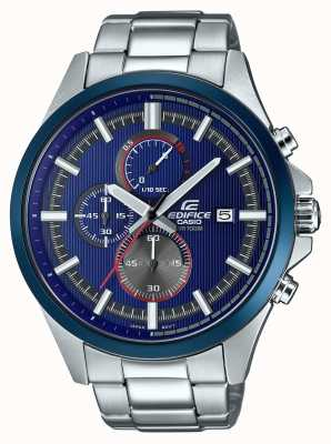 Casio 男装大厦赛车蓝色计时码表 EFV-520RR-2AVUEF