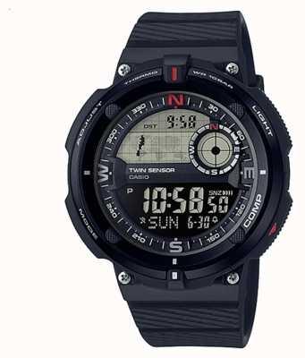 Casio 男士经典旅行世界时间腕表 SGW-600H-1BER