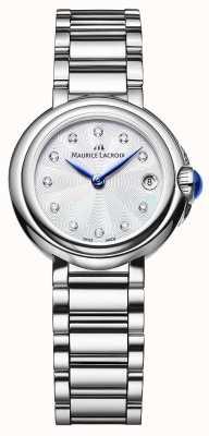 Maurice Lacroix 女子菲亚巴28毫米钻石套腕表 FA1003-SS002-170-1